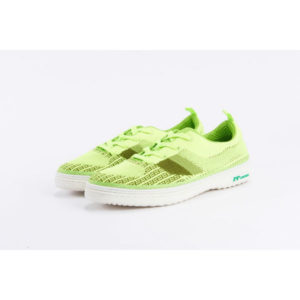 Light Green Zipper Shoes Piipiinoo